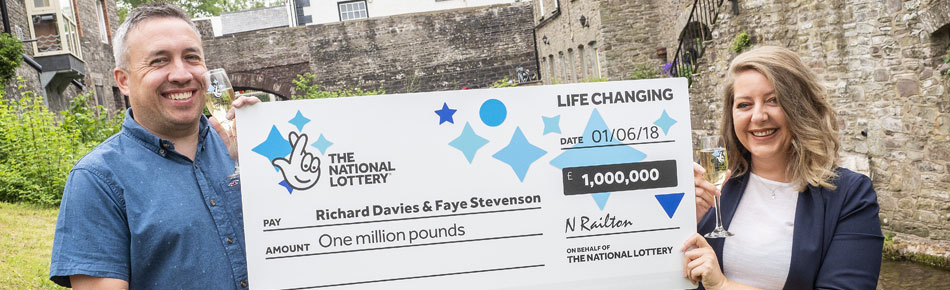 EuroMillions winner Davies | Life changing | The National