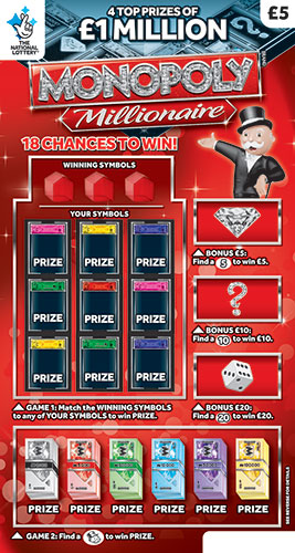 Scratchcards | GameStore | The National Lottery
