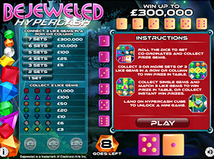 Bejeweled Hypercash screenshot 1