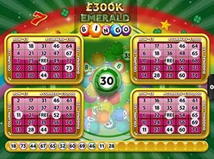 £300k Emerald Bingo screenshot 2