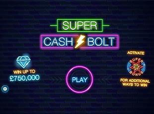 Super Cash Bolt screenshot 1