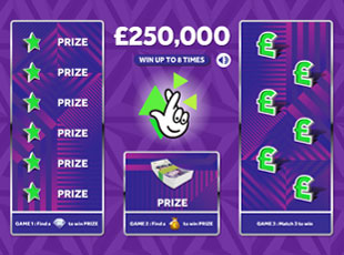 £250,000 Purple screenshot 1